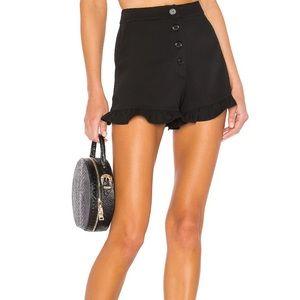 NWT Lovers + Friends Moon Walkin Shorts in Black